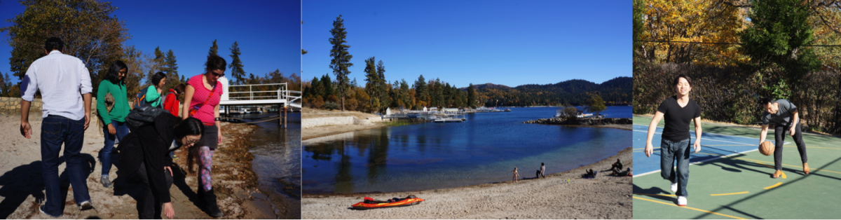 Lake Arrowhead pictures and basketball