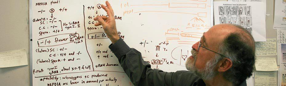 Robert Fischer in teaching mode